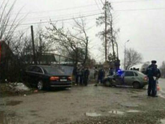 На Ставрополье попала в ДТП машина заместителя генпрокурора Сыдорука
