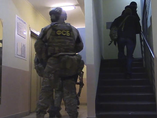 Четверых террористов взяли штурмом на улице Наметкина в Москве