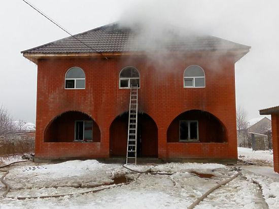 В Воскресенске на пожаре погибли двое детей и их мать