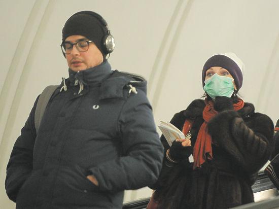 Москва попала в сети гонконгского гриппа