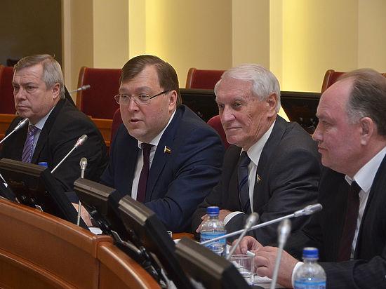 Донские депутаты одобрили региональный бюджет в первом чтении