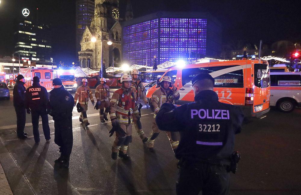 Начиненная металлом фура превратила рождественскую ярмарку Берлина в мясорубку