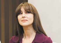 Итальянская актриса Моника Беллуччи посетила российскую столицу