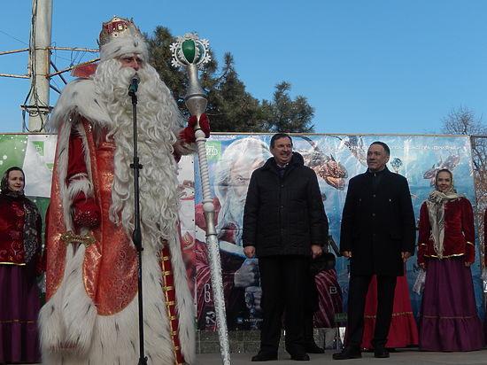 Дед Мороз: «Нам нечего делить с Санта Клаусом»