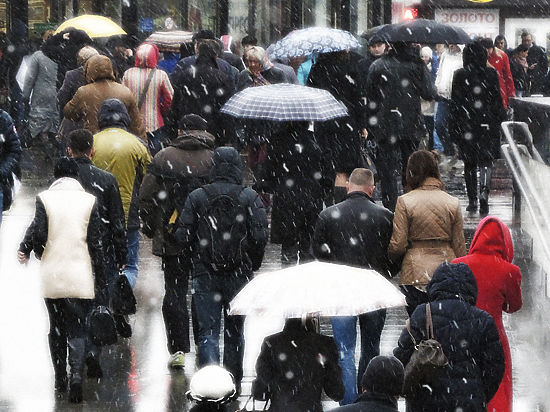 Составлен прогноз на Новый год в Москве: слякоть и тепло