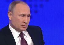 Президент Владимир Путин в ходе ежегодной пресс-конференции пояснил свои слова о том, что российская армия готова дать отпор любому потенциальному агрессору