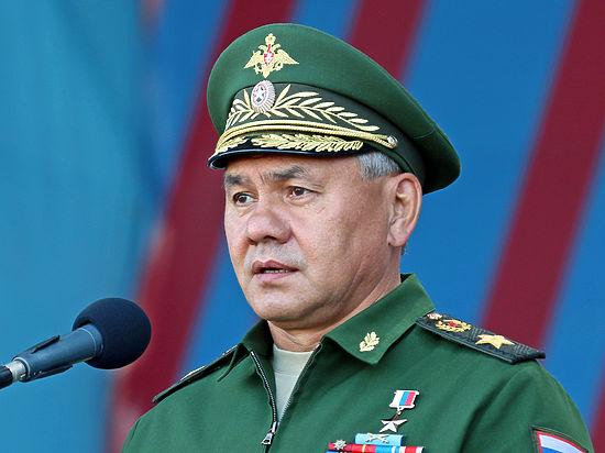 Шойгу доложил Путину об освобождении Алеппо