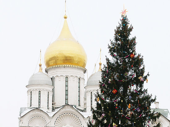 Кремлевскую елку нарядили слепоглухонемые дети