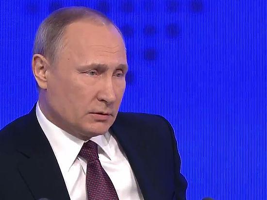 Путина удивила реакция США на слова о мощи российской армии