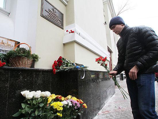 Очевидцу удалось снять момент падения Ту-154