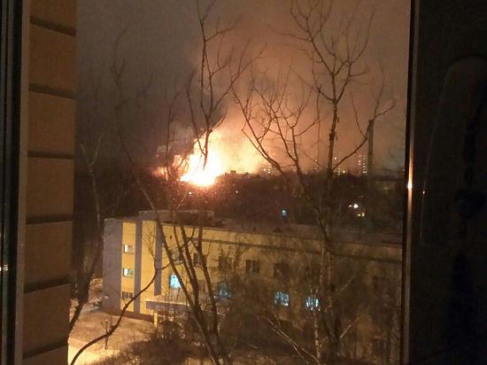 Страшный пожар в Королеве: сгорело общежитие, полиция, погиб ребенок