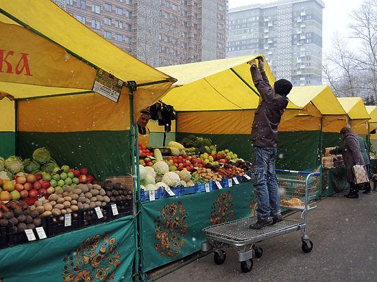 Торговать на ярмарке смогут только местные фермеры