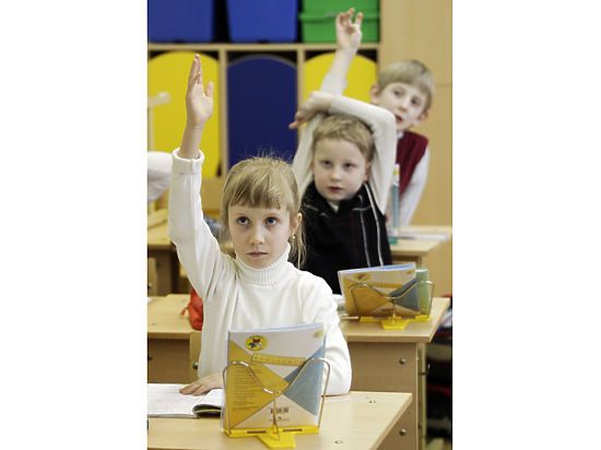 Это неудивительно, если учесть, что в России дети идут в школу на 2-3 года позже