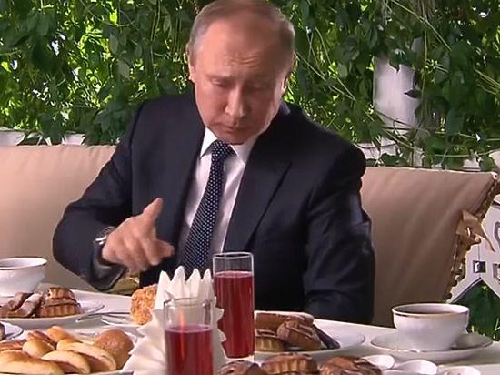 Песков рассказал о новогоднем столе Владимира Путина
