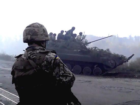 Украинские радикалы опять заблокировали ДНР и ЛНР