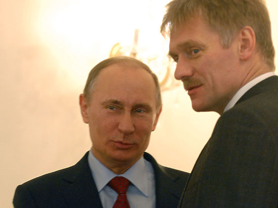 Путин довел Пескова до