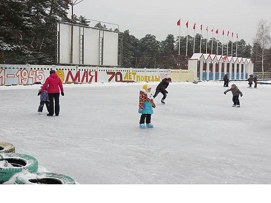 Где покататься на коньках в Серпухове