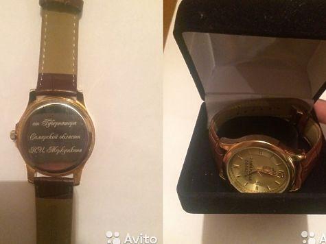 В Самарской области закупают подарочные часы на 3 миллиона