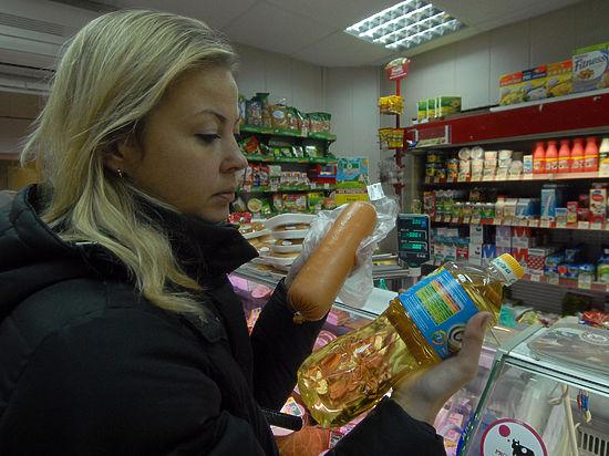 Российские прилавки заполнены фальшивой едой