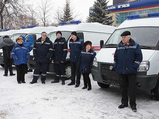 Нижегородские больницы получили новые машины скорой помощи