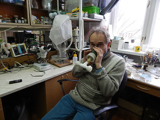 Экскурсия в лабораторию наноструктур и нанотехнологий ИТЭБ РАН