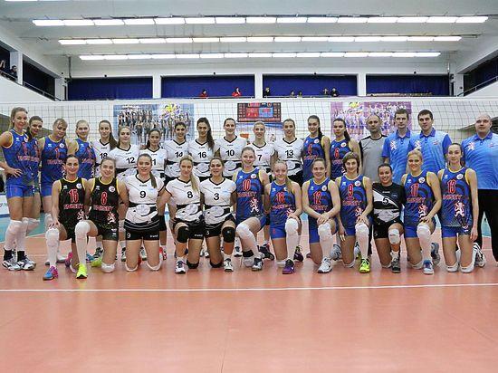 Первая победа красноярских волейболисток в Еврокубке