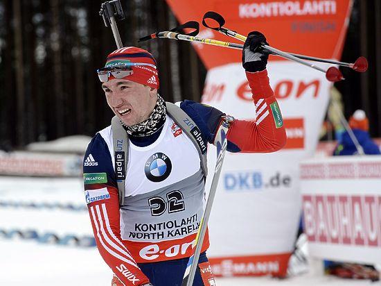 Российский биатлонист Логинов завоевал «серебро» в спринте на чемпионате Европы