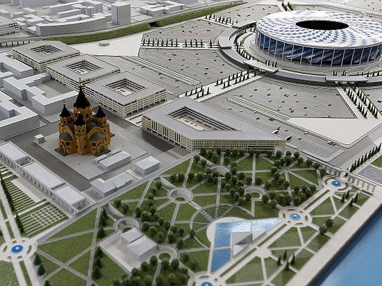 Футбольный стадион «Нижний Новгород» попросил льгот