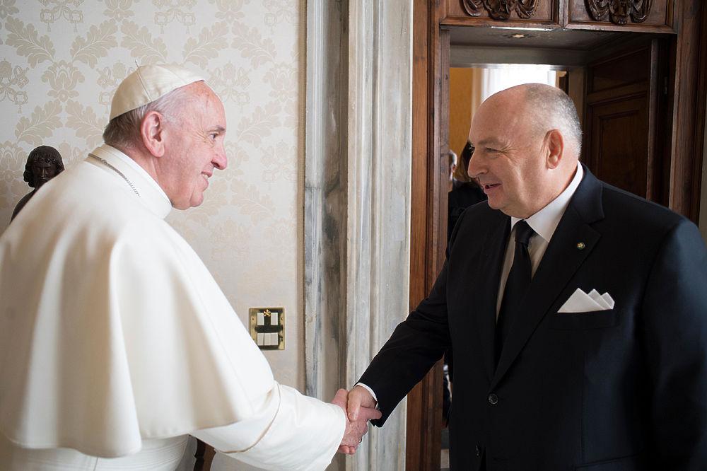 Накануне Дня Холокоста Папа Римский принял делегацию Европейского еврейского Конгресса