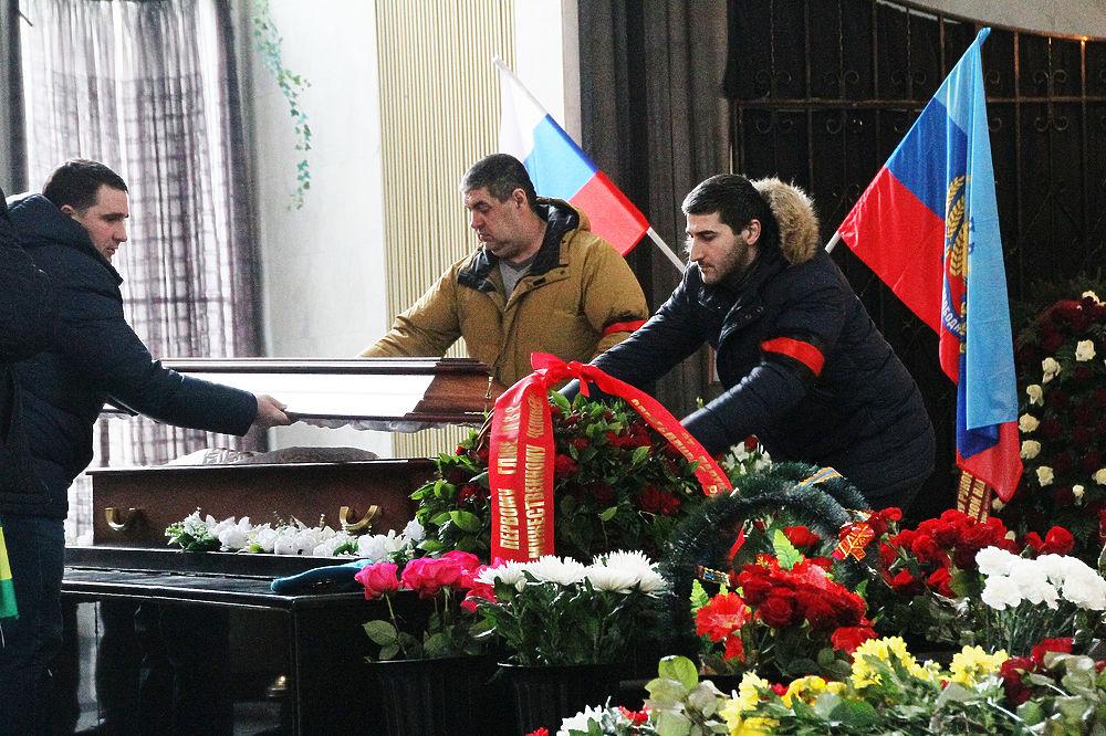 В Москве простились с первым главой ЛНР Валерием Болотовым