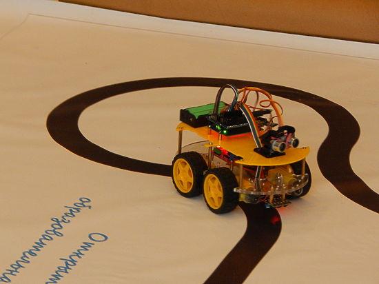 В Серпухове прошел фестиваль робототехники