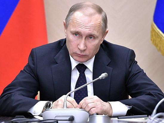 Путин снял с должности 16 генералов МЧС, МВД и СКР