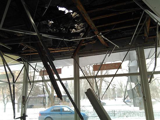 «Мой дом в Донецке шатался, как дерево, убиты люди»