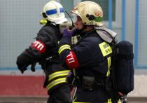 Причиной московского пожара, в котором погиб спасатель, могла стать свеча