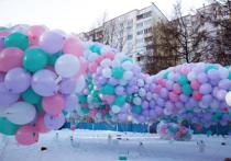 Необычный рекорд в Москве: в честь новорожденной запустили 20000 шаров