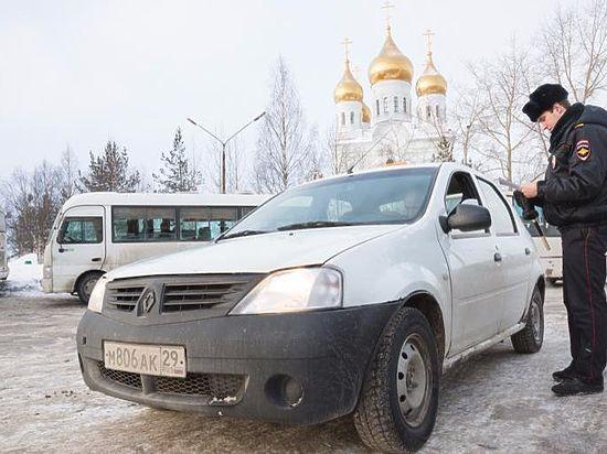 В региональном минтрансе признали: только в Архангельске большинство извозчиков работают нелегально