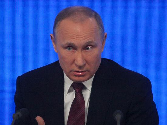 Российский президент обвинил мировые издания в манипуляции общественным сознанием