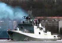 Корабль «Адмирал Григорович» направляется в Сирию для тренировки