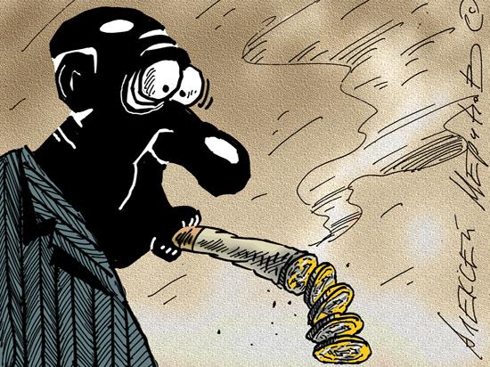 Минфин уличил Минздрав в нецелевом расходовании средств на борьбу с курением