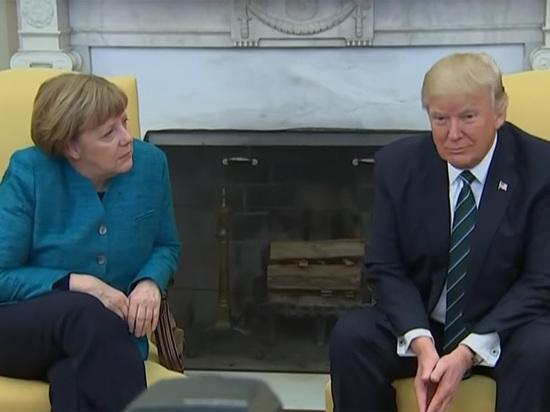 Меркель перед встречей с Трампом погрузилась в Playboy