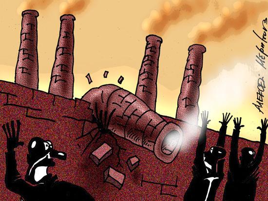Рекордный спад промышленности отложил выход России из кризиса
