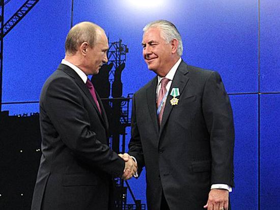 Путин и тираннозавр: чего ждать от визита госсекретаря США Тиллерсона