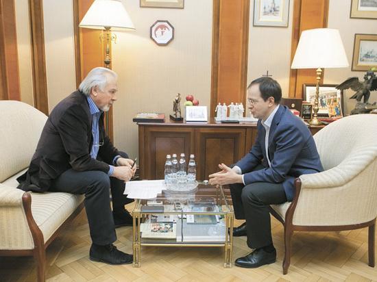 Беседа главного редактора «МК» Павла Гусева с главой Минкульта