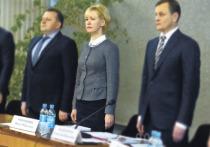 Ирину Мирошник на сессии Петросовета отчиталась перед депутатами о своей работе в 2016 году, и гордепы единогласно признали ее работу удовлетворительной