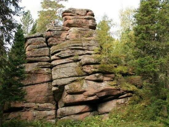 Уникальный уголок красноярской природы – Мининские столбы