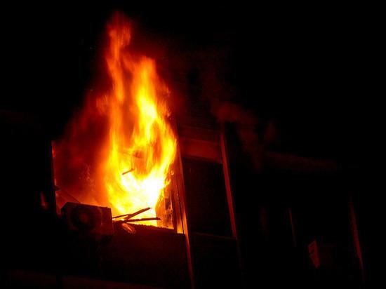 Как жильцы спасались во время пожара в многоэтажке в Протвино