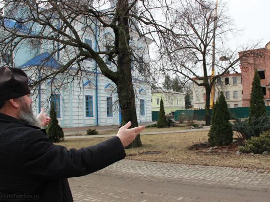 Тамбовская епархия заберет часть земли в центре города под Казанский мужской монастырь