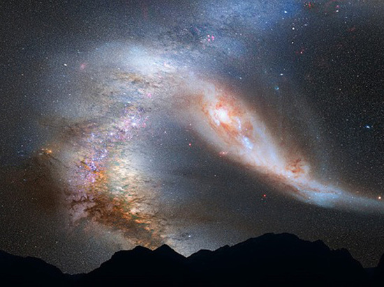 Астрономы зафиксировали таинственный взрыв в далеком космосе