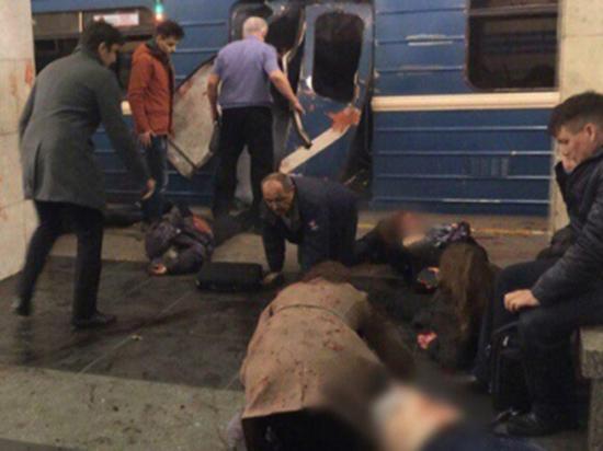 Очевидцы теракта в петербургском метро рассказывают, как это было