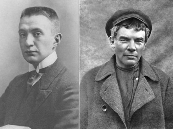 Ленин и Керенский: одна доска на двоих